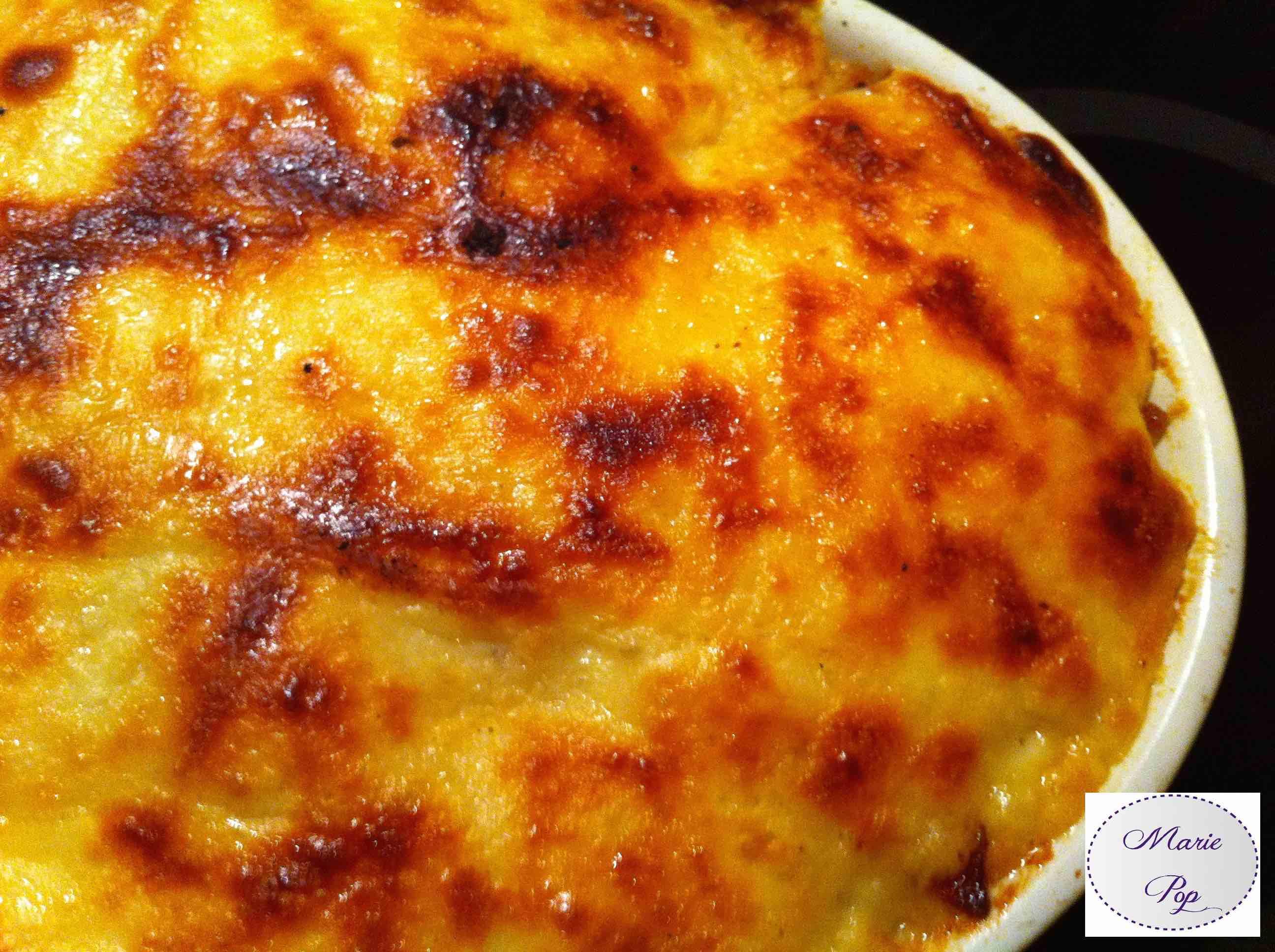 recette gratin raclette