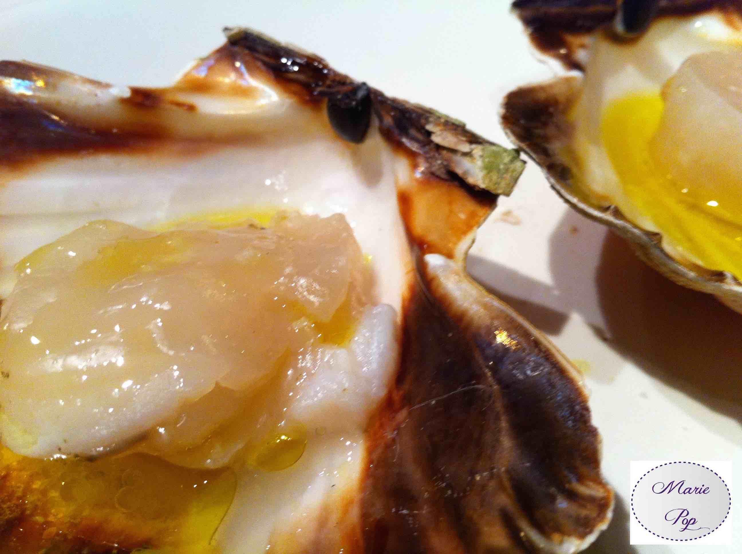 recette coquille saint jacques au four rôties