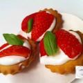 Bouchées façon tarte aux fraises - la recette