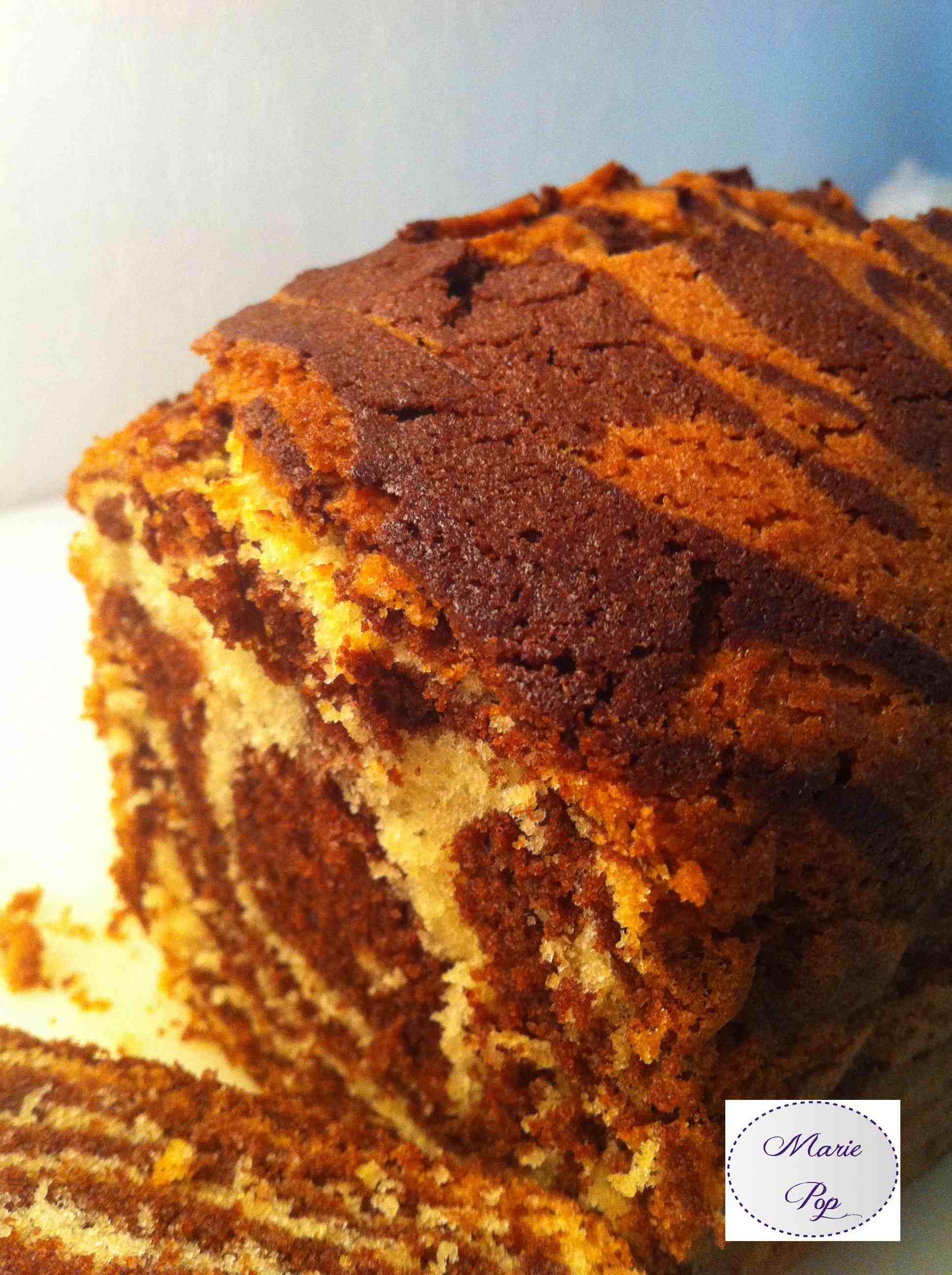 Cake Sauvage, cacao et vanille - la recette