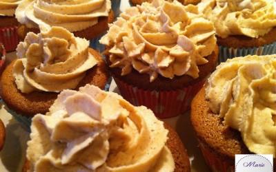 Des Cupcakes à la crème de marron… C'est moi qui l'ai fait !