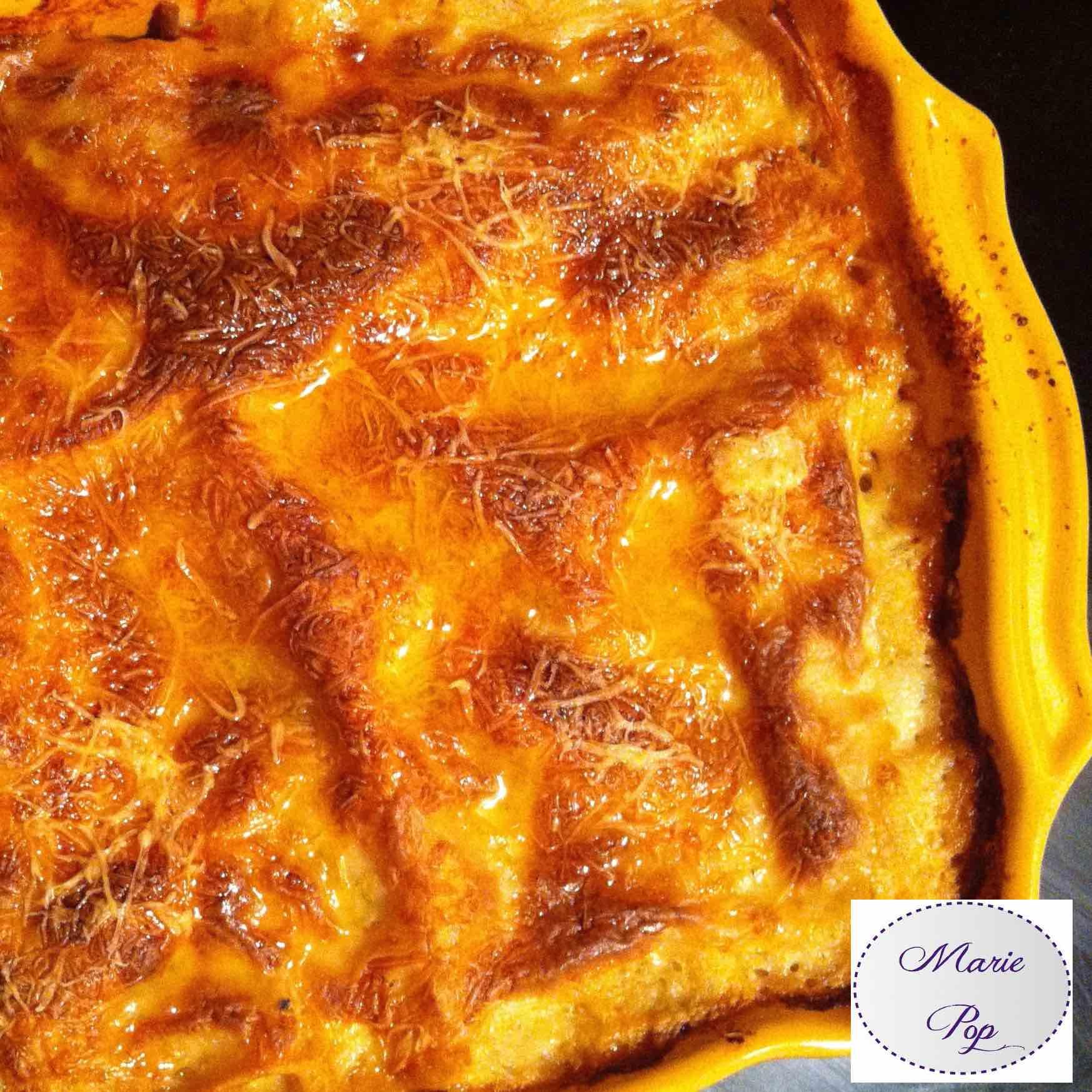 Recette de lasagnes maison... trop bon !