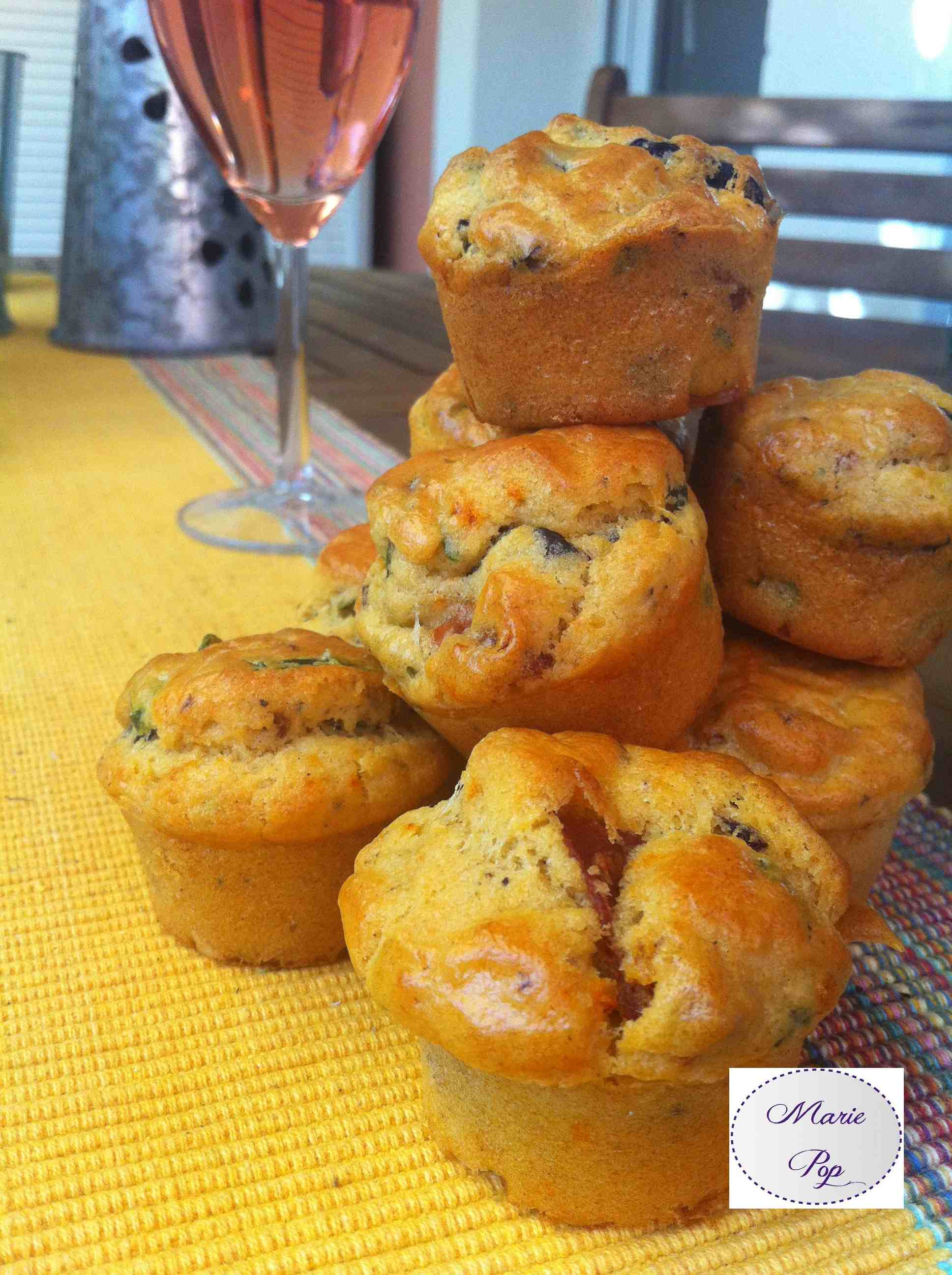 Mini muffins apéro italien - la recette