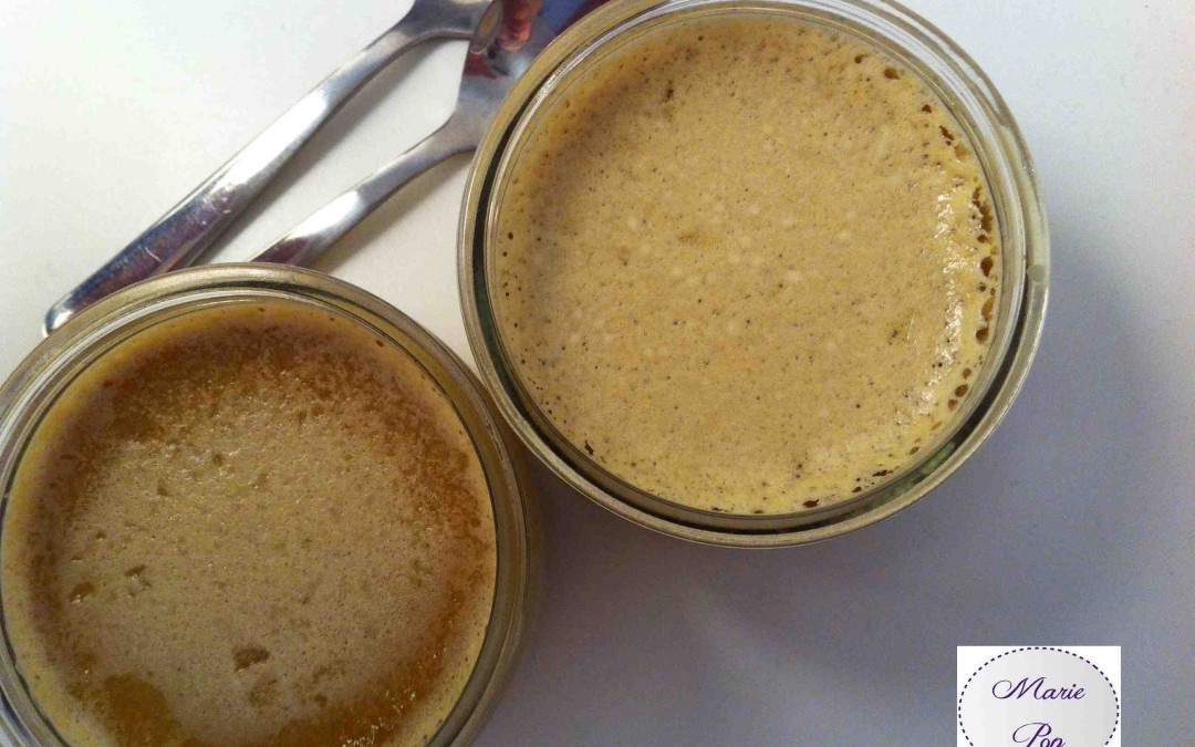 Petits pots de crème au café ! Marie Pop se prend pour une laitière…