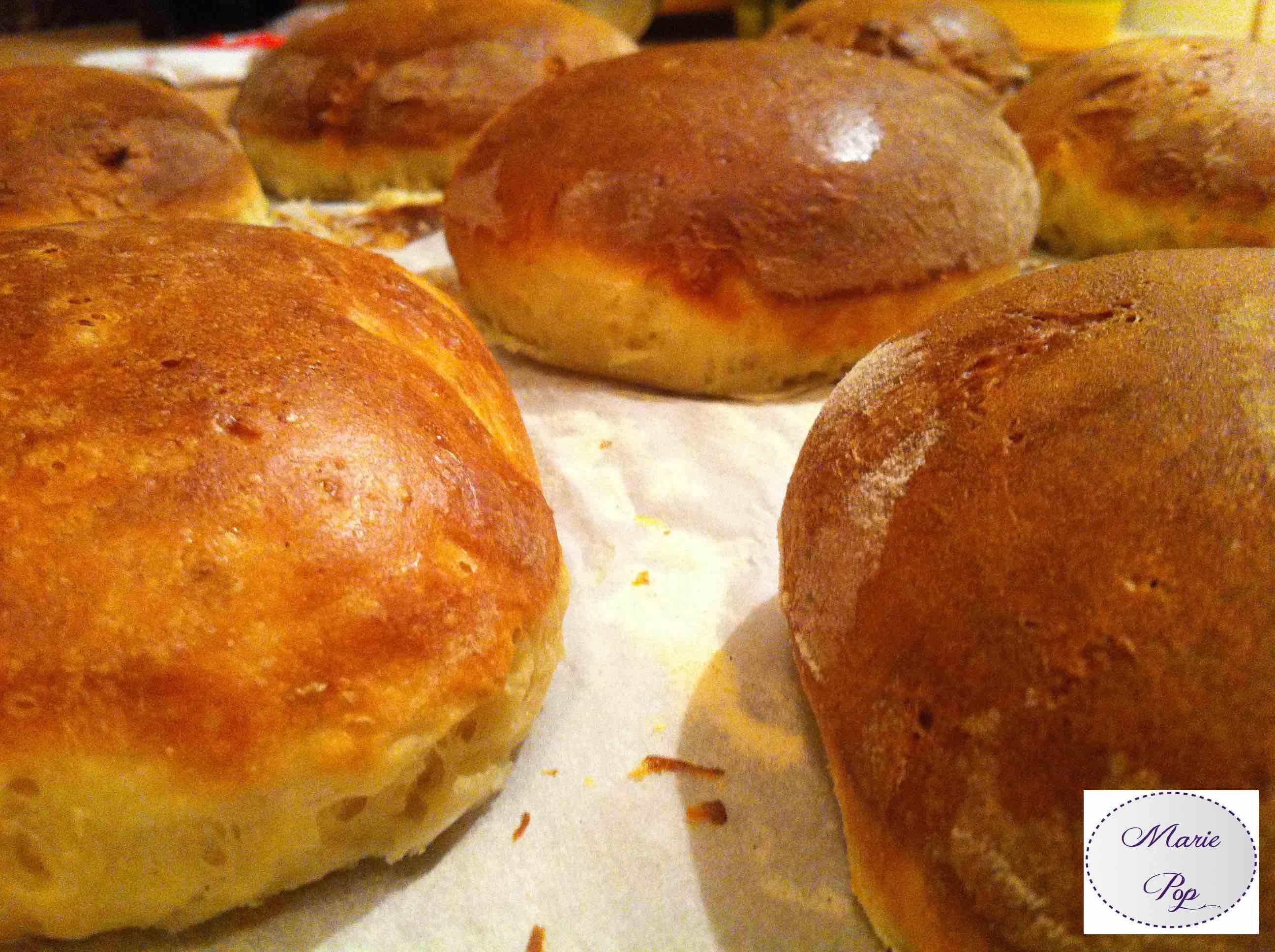 recette de pains à burger