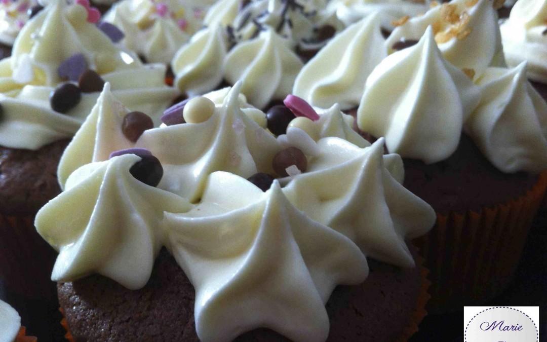 La folie Red Velvet Cupcakes