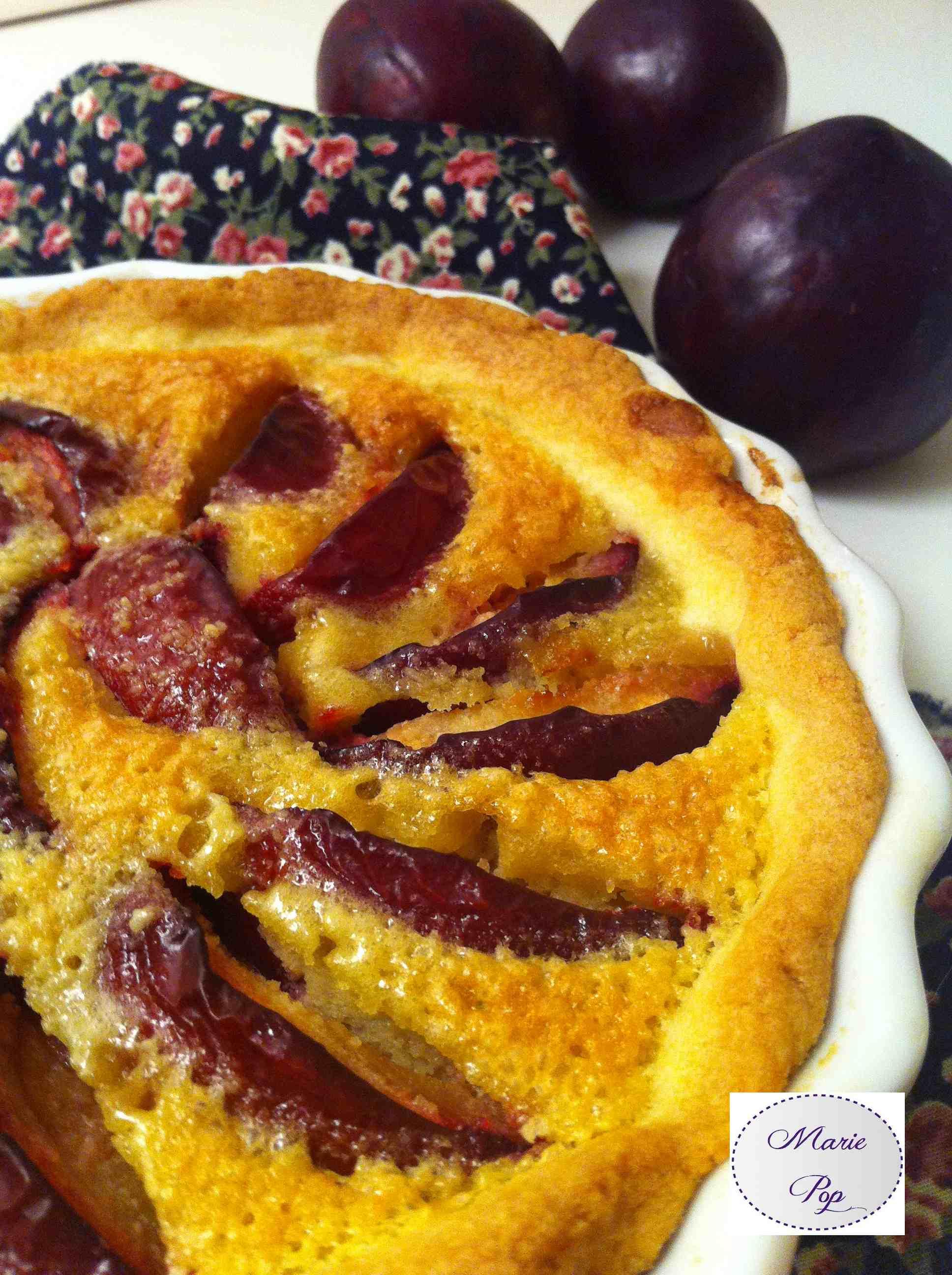 Tarte aux prunes rouge - la recette très gourmande