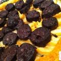 Tarte fine aux poires et boudins noirs - la recette