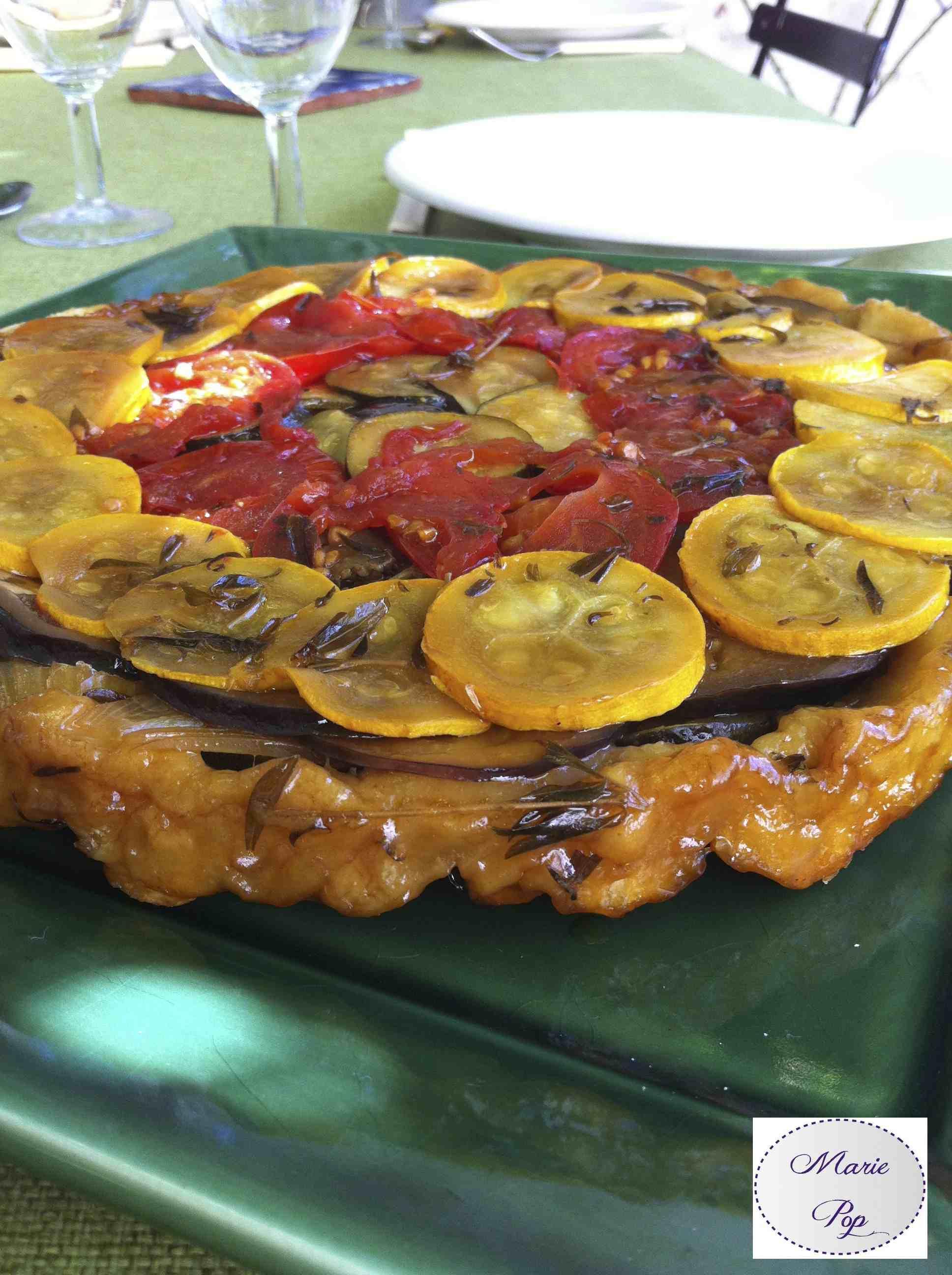 Tatin de légumes du soleil - la recette