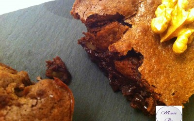 Brownie aux noix… Personne n'y résiste ! Même pas moi !