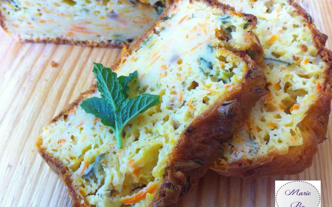 Cake aux courgettes, carottes et menthe fraîche… Marie Pop vous emmène piqueniquer ! Youpi !