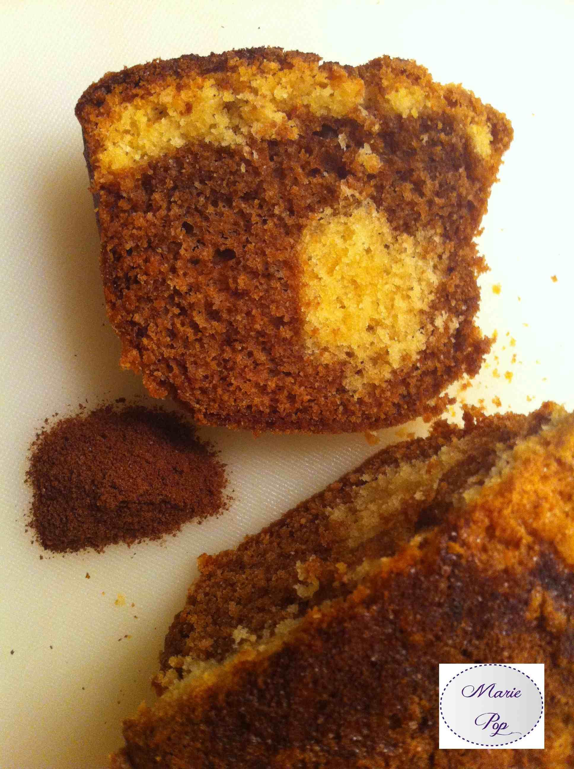Cake à  l'ovomaltine - ma recette toute facile