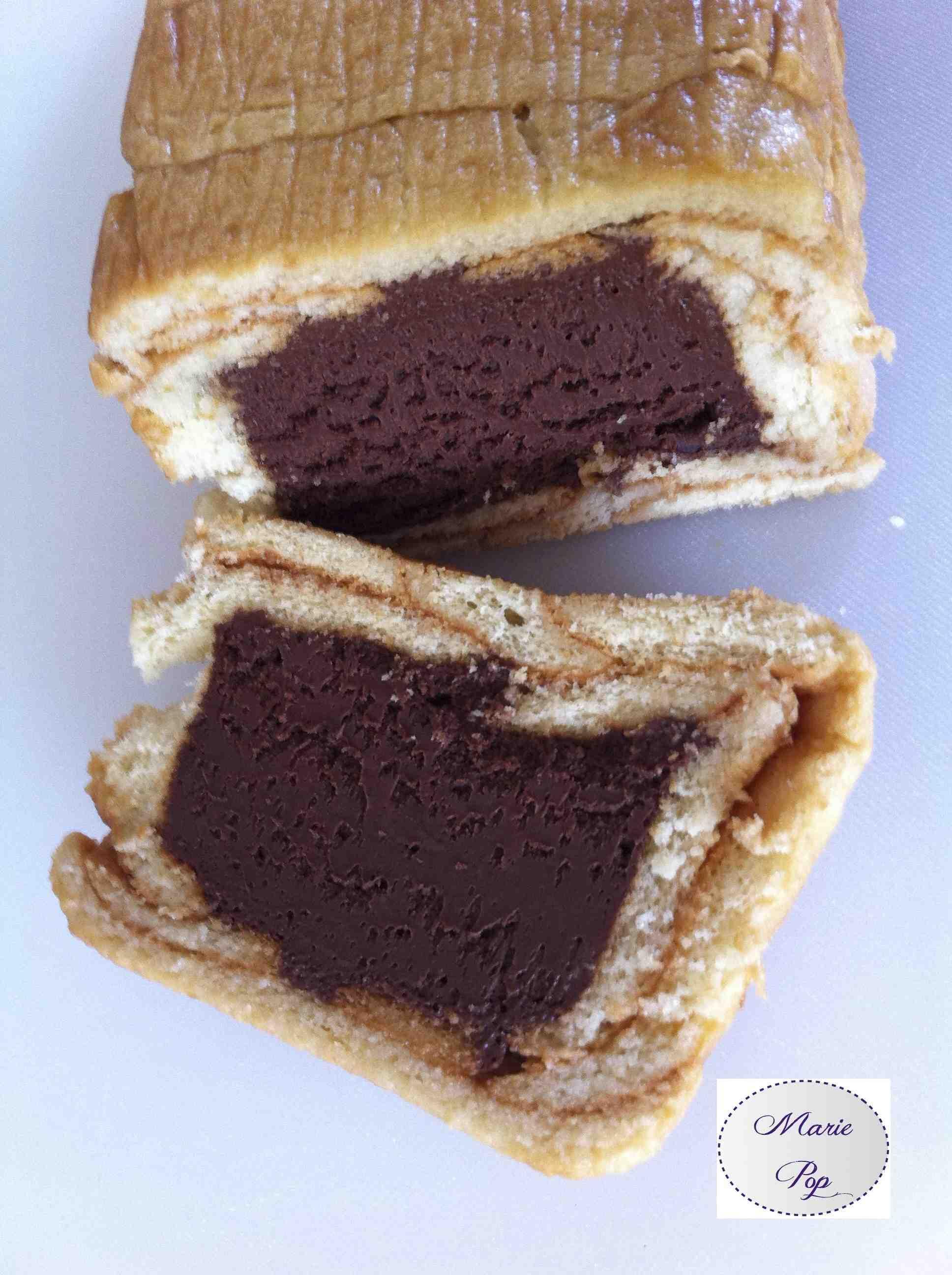 Cakelotte au chocolat comme une marquise