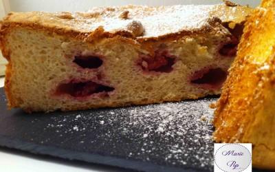Gâteau des anges aux framboises…. Les framboises aussi ont des ailes !