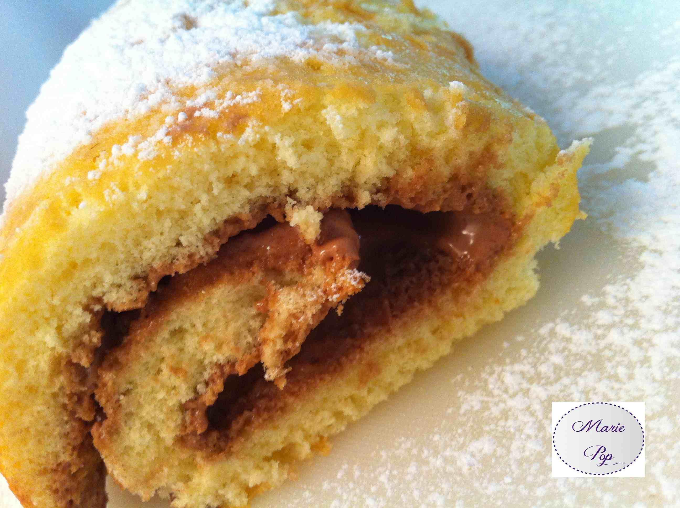 Gâteau roulé au nutella - la recette