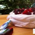 Pavlova aux fruits rouges - ma recette