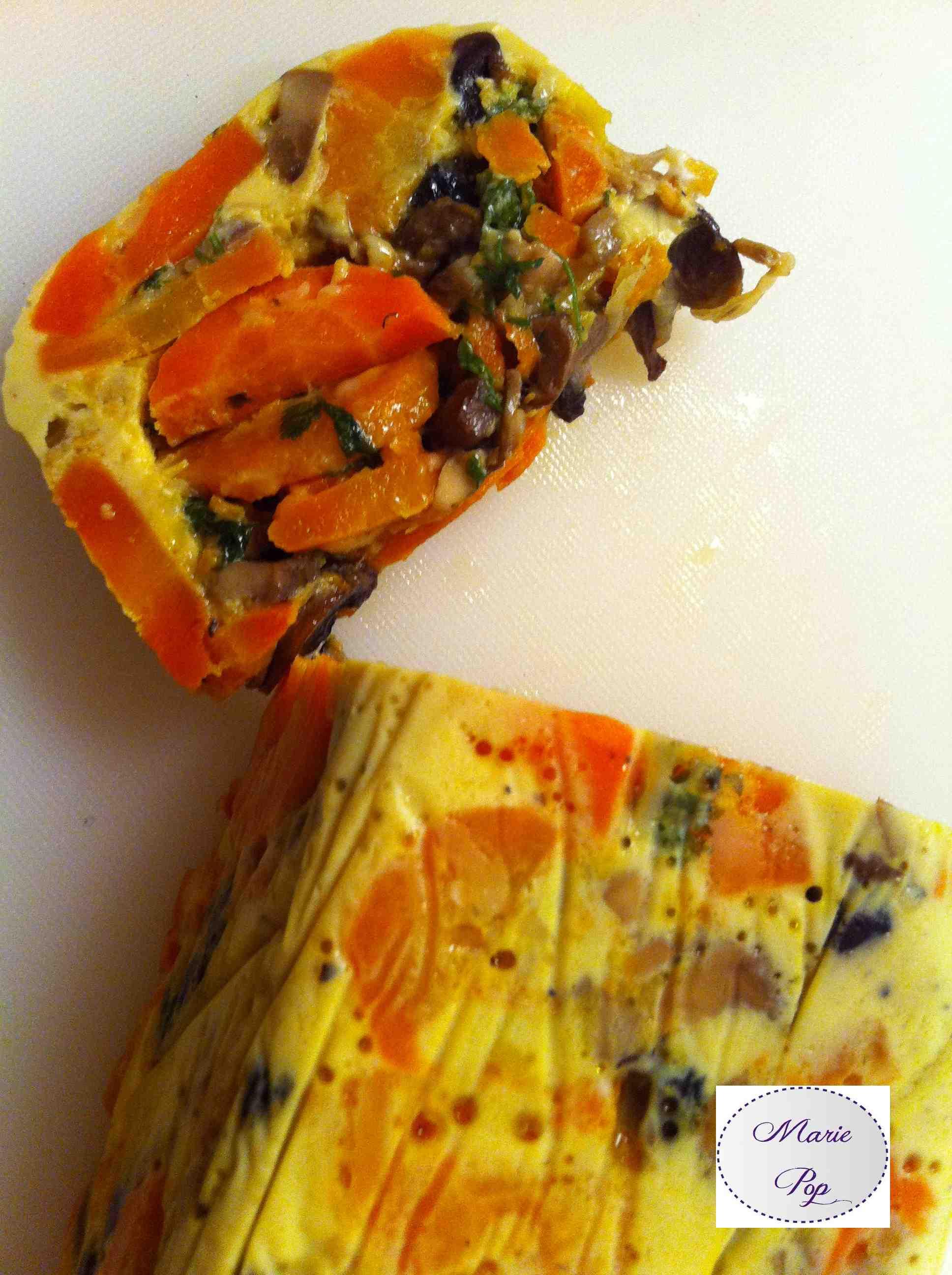 Terrine de carottes fondantes