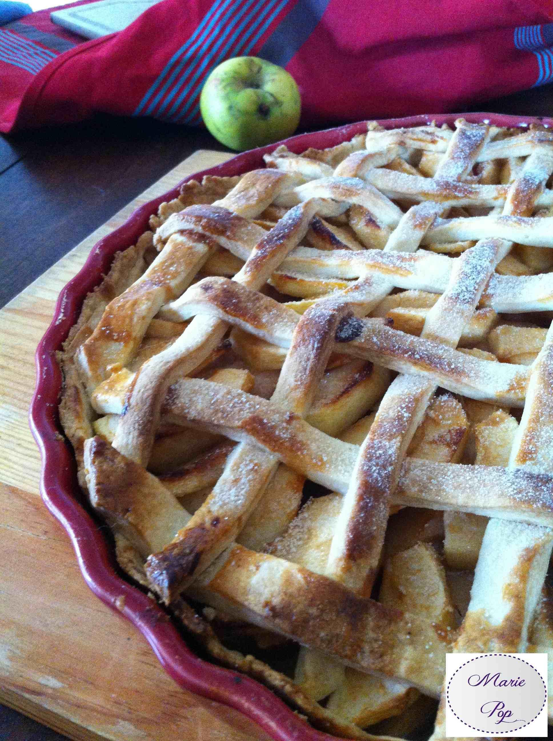 Apple & Pear Pie - la recette