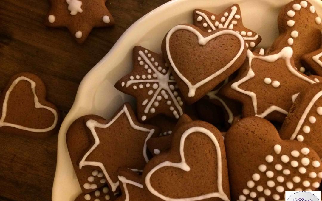 Petits biscuits en pain d'épices… Super canon !