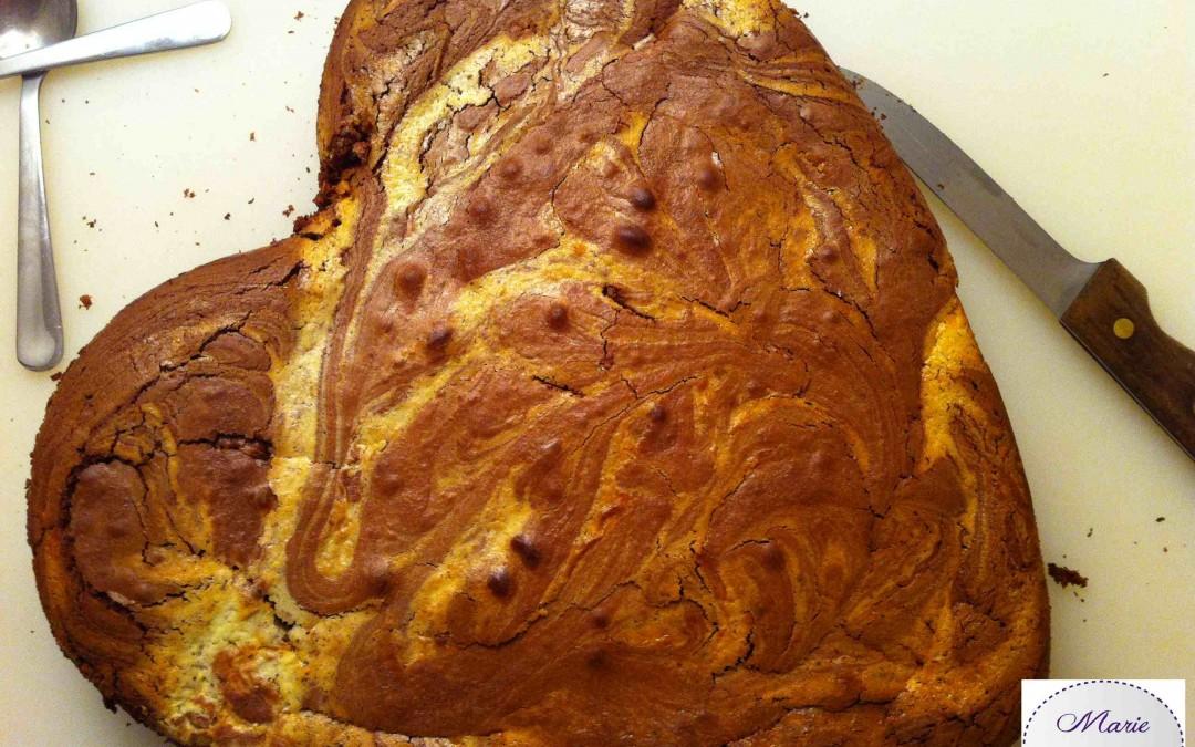 Brownies Marbrés – Marie Pop fait des volutes !