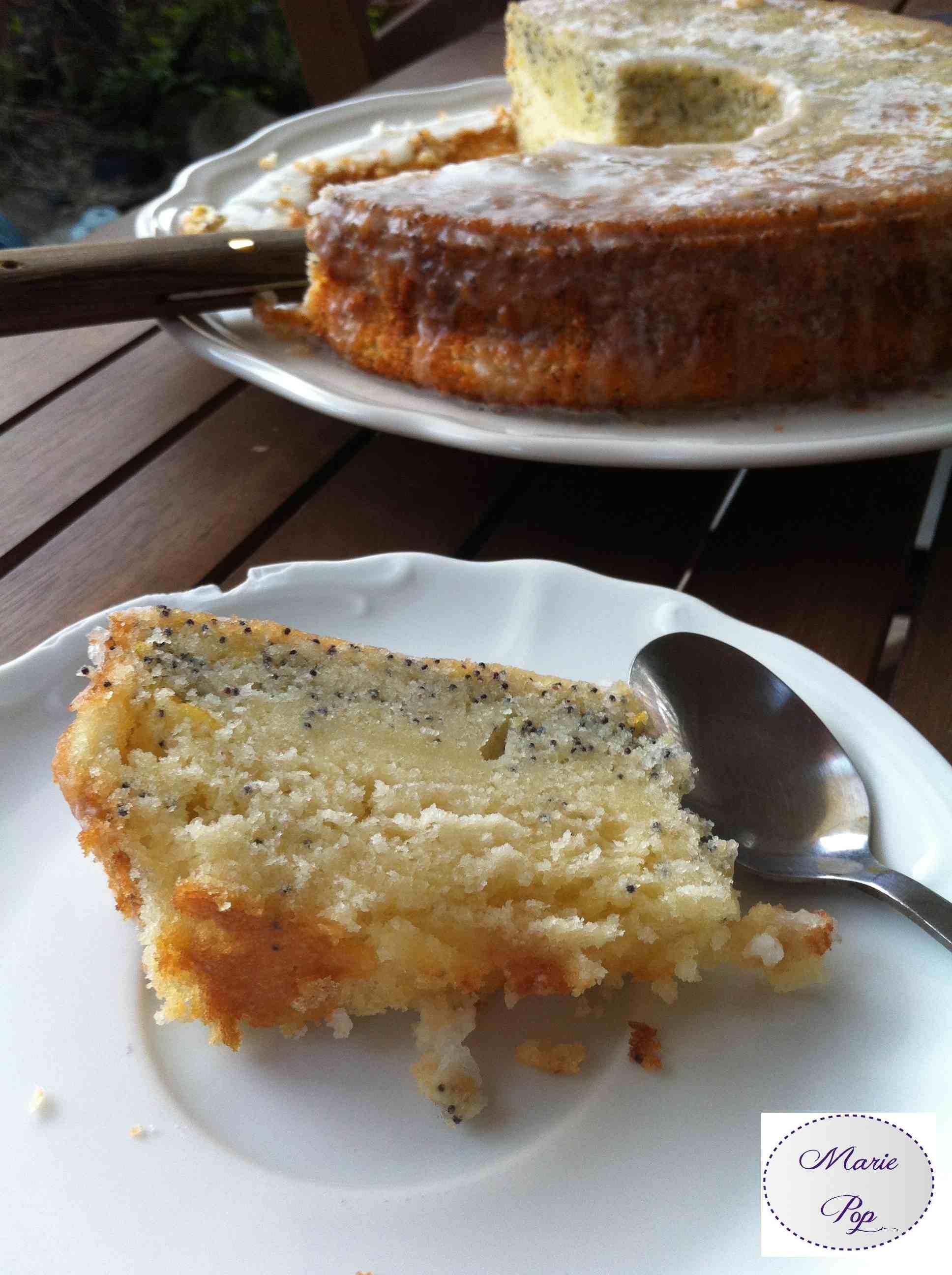 Bundt Cake Citron Pavot - la recette