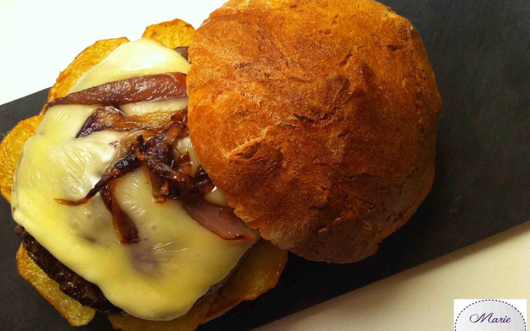 Burger Savoyard… Marie Pop s'envole dans les Alpes !