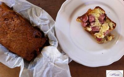 Cake au saucisson à l'ail… Le cake des familles !  C'est lui !