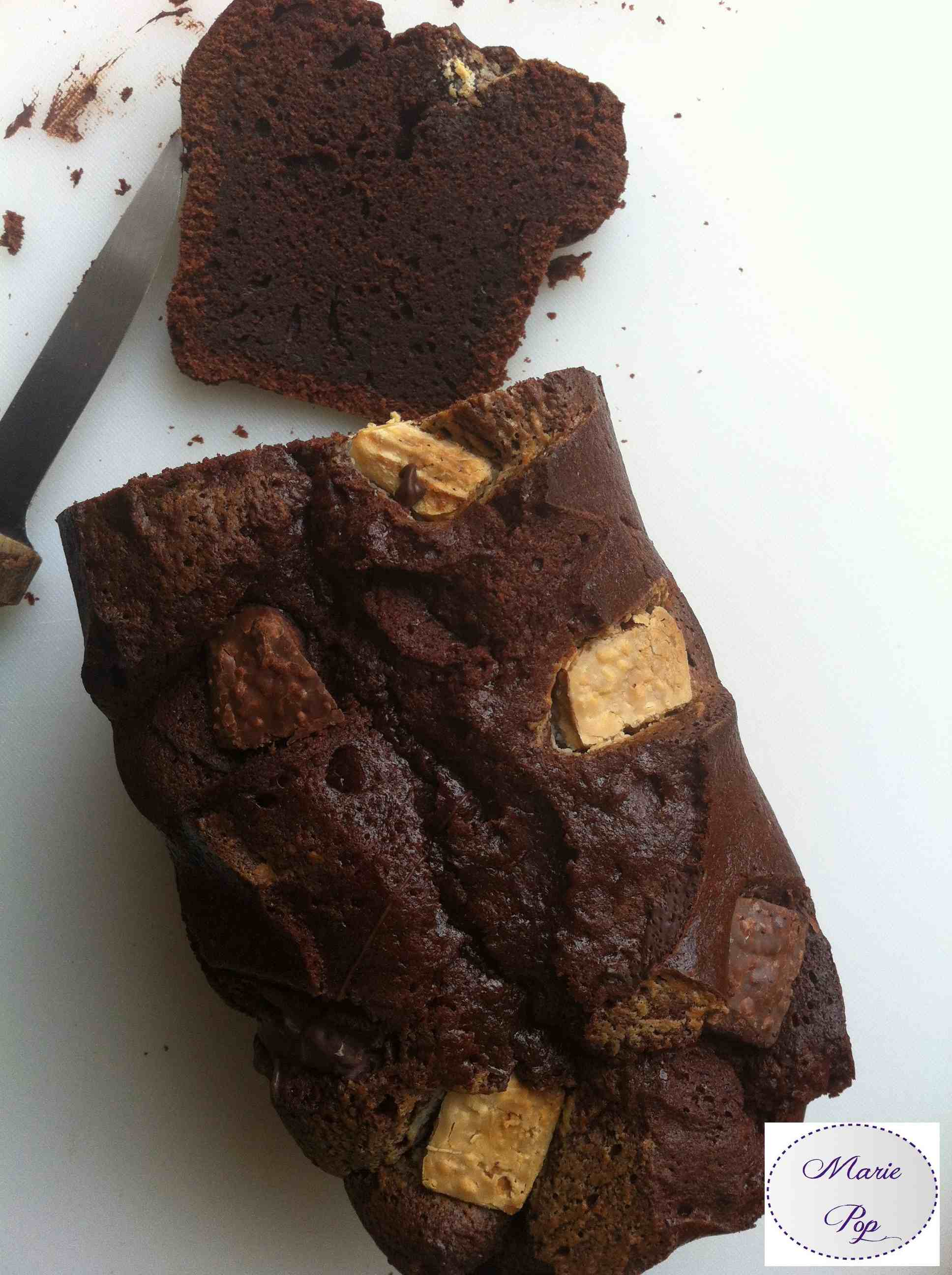 Cake dodu tout chocolat - la recette