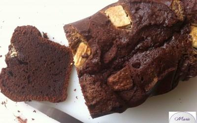 Cake dodu tout chocolat… Marie Pop se gonfle les joues !