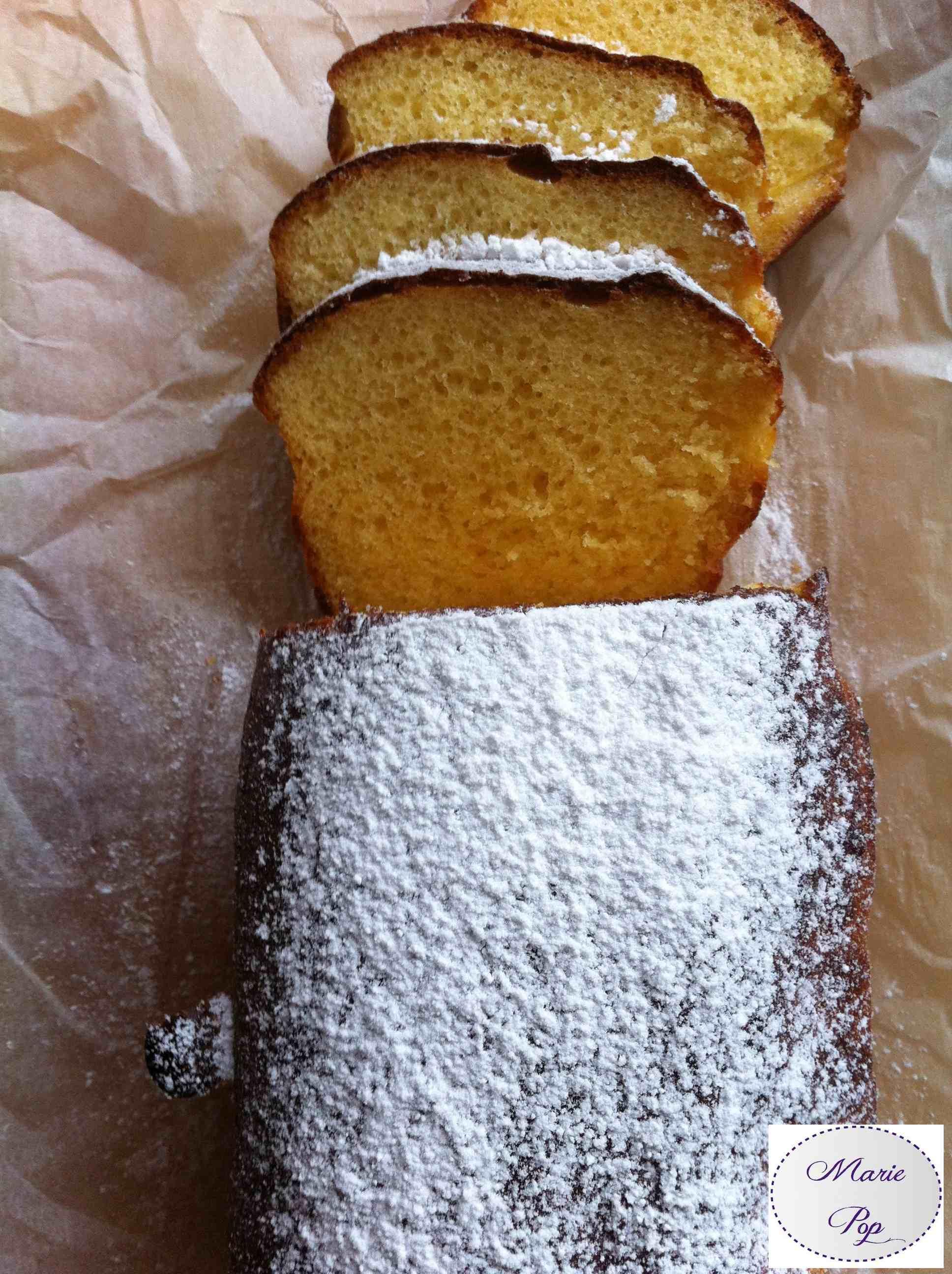 Cake au lait concentré sucré - la recette