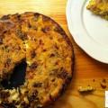 Clafoutis Poireaux Lardons - la recette