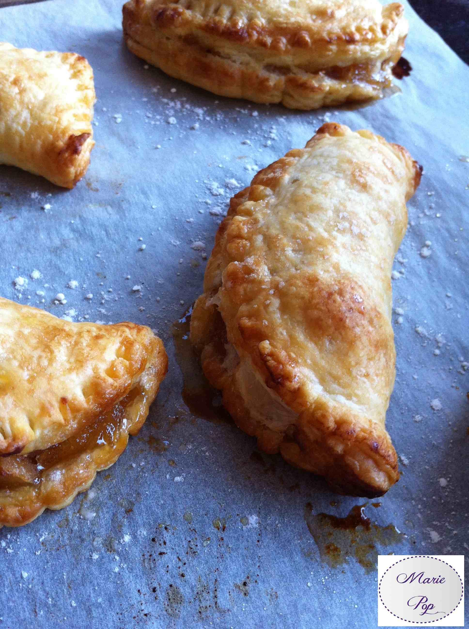 Minis Chaussons aux pommes - la recette