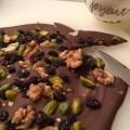 Chocolat aux fruits secs - la recette