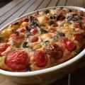 Clafoutis de tomates cerises - la recette