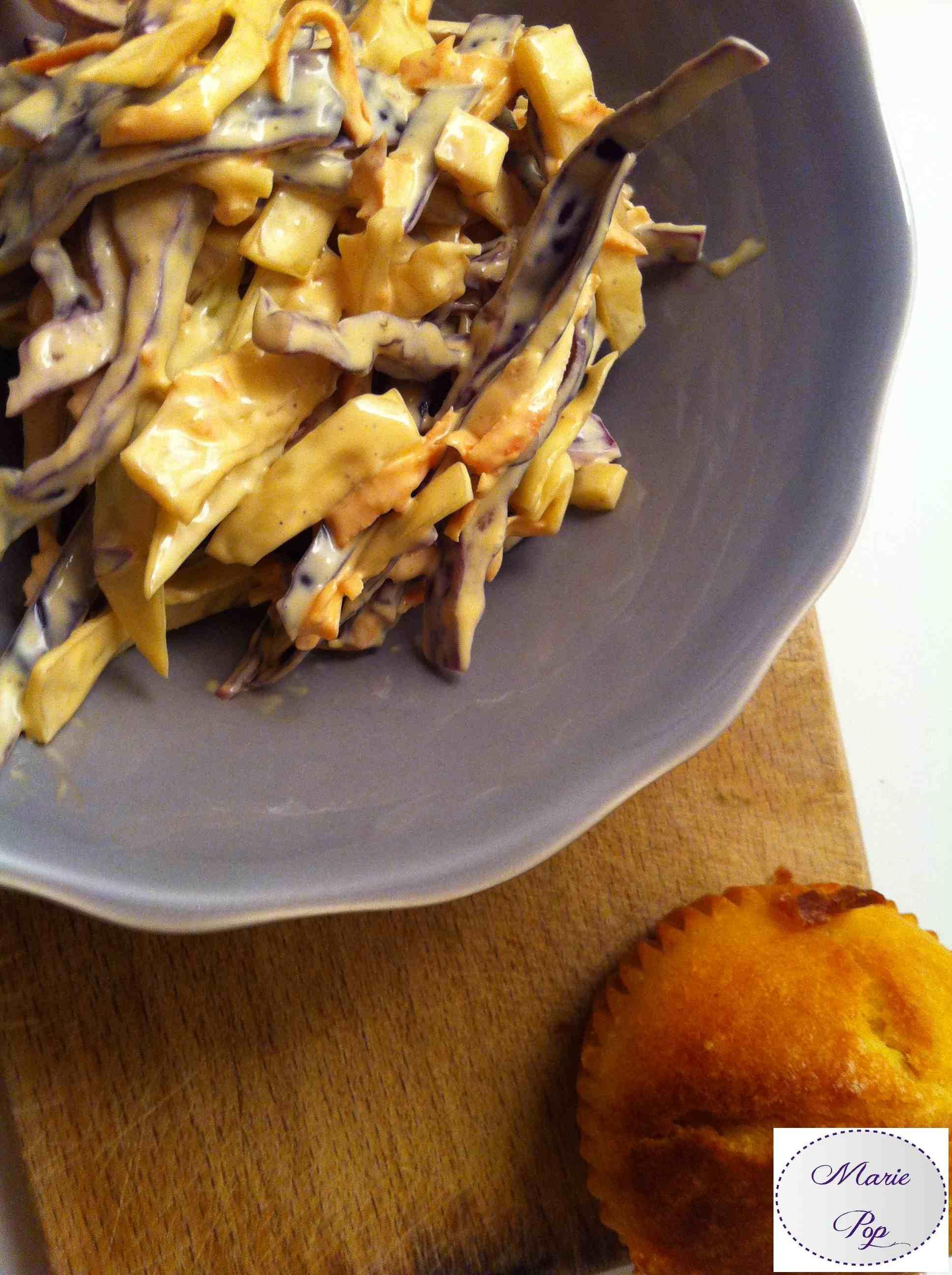 Salade Coleslaw - la recette