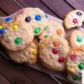 Cookies aux MM's - la recette
