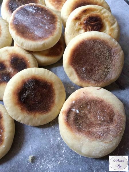 English muffins - La recette