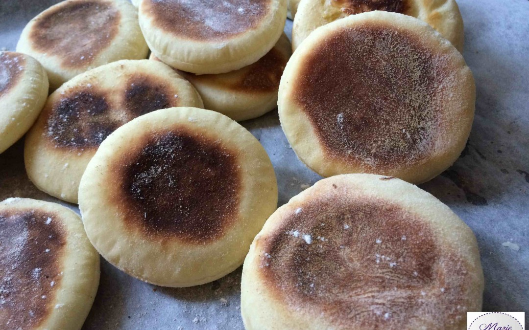 English Muffins… Ces petits pains sont SO British !