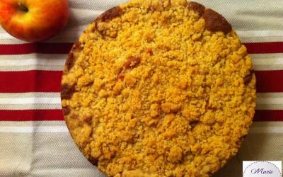 Gâtrumble ou le Crumteau aux pommes… Vous préférez lequel ? Le gâteau crumble !
