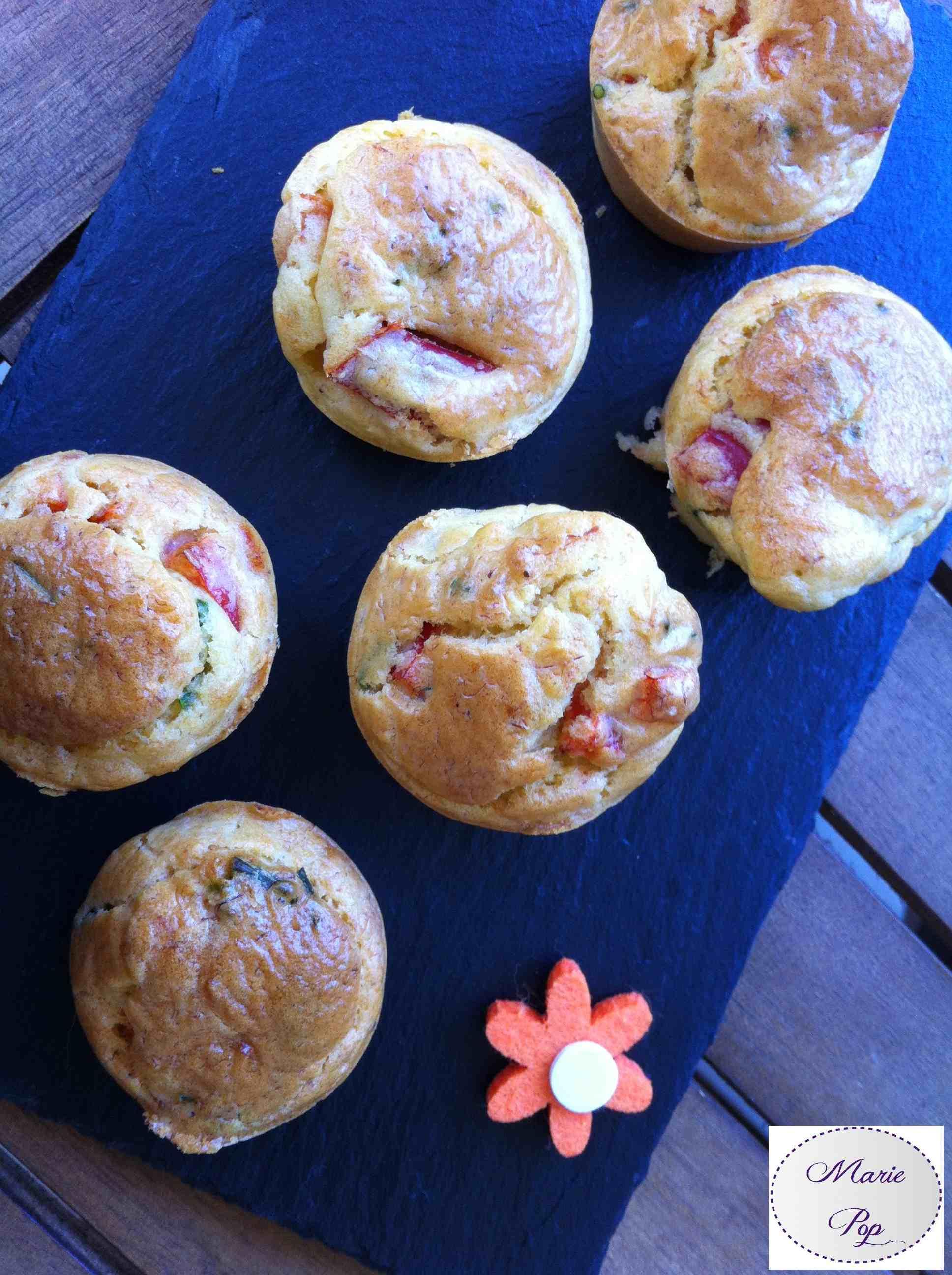Mini muffin au crabe - la recette