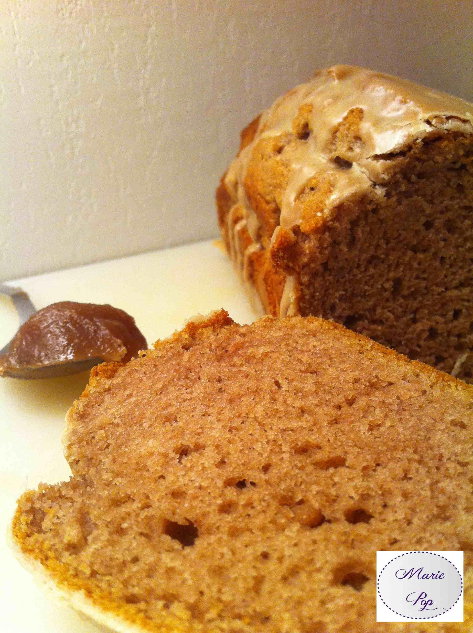 Moelleux a la crème de marrons - la recette