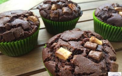 Muffins au chocolat… Hum super moelleux et hyper gourmand !