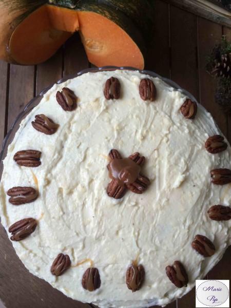Gâteau à la citrouille - Pumpkin layer cake - la recette