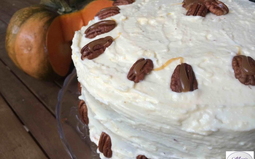Pumpkin Layer Cake – Un gâteau à la citrouille… Ouh !