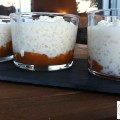 Riz au lait au caramel beurre salé - la recette