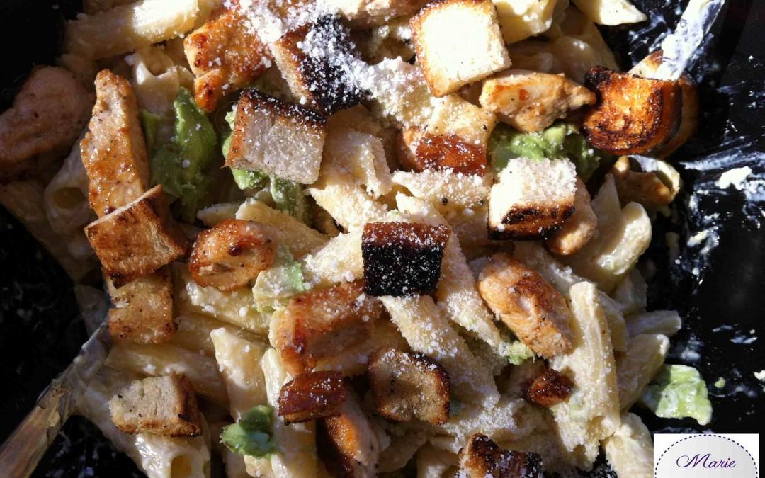 Salade de pâtes façon Caesar… Vous pouvez m'appeler Julius Popus !