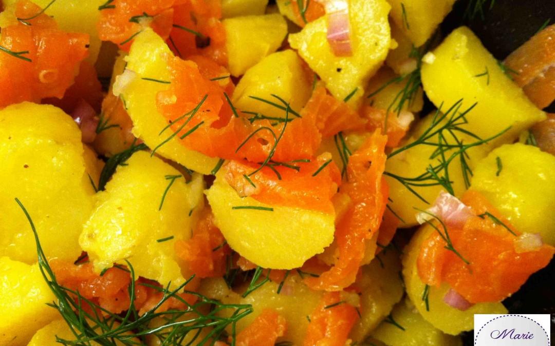 Salade Nordique… C'est bon d'avoir un peu froid !