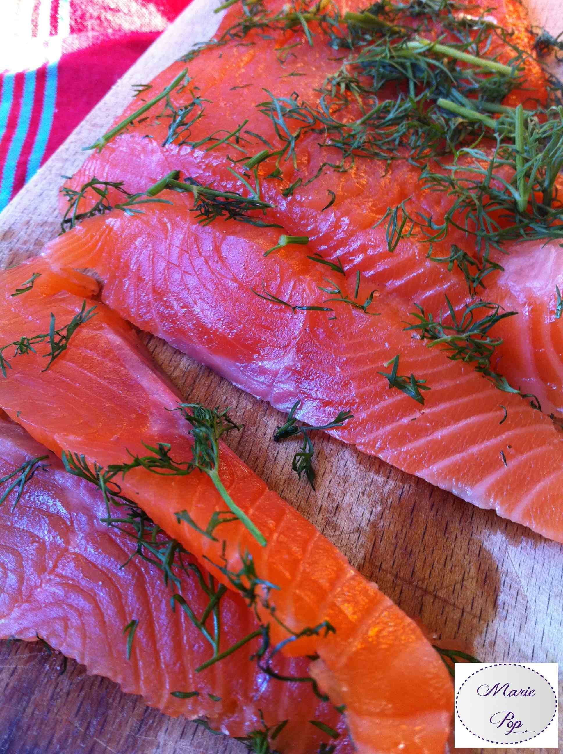 Saumon Gravlax - la recette