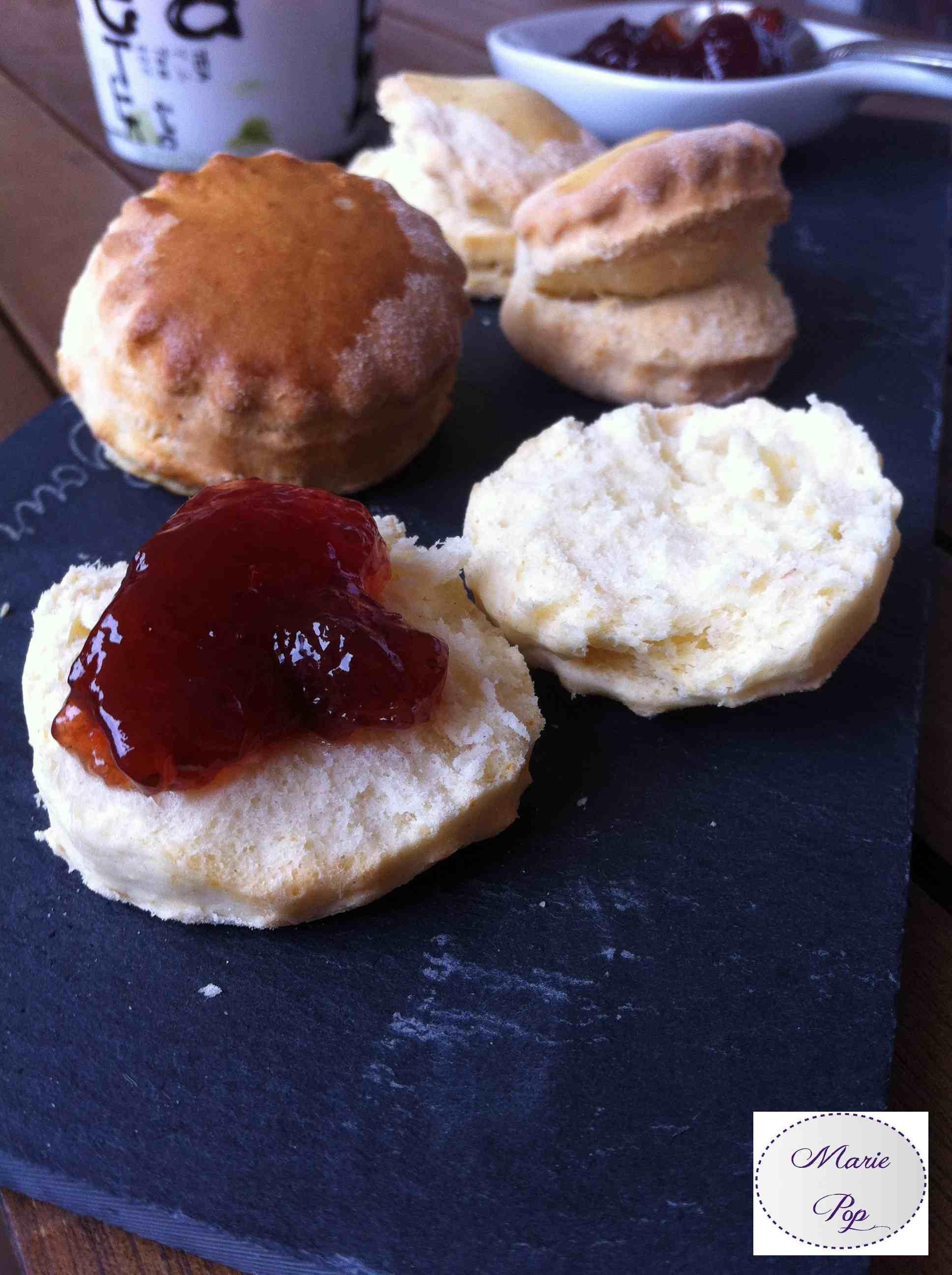 Scones - la recette so british