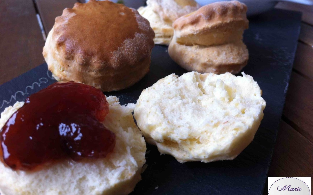 Scones – Marie Pop prépare Tea Time !